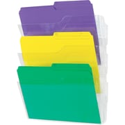 Staples® Unbreakable Wall Files, 3/Pack