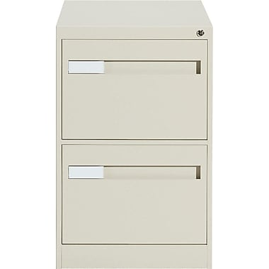Global® 2800 Series Premium Vertical Letter File Cabinet, 2-Drawer, Sand