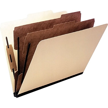 Oxford® Economy Manila Classification Folders, Legal