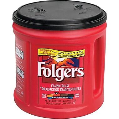 Folgers - Café moulu, saveur de torréfaction classique, 920 g