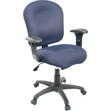 staples task chair with arms blue staples