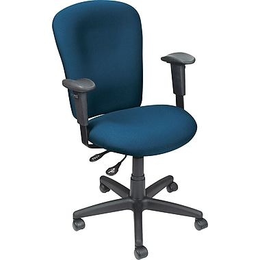 Staples® Ergonomic Operator Chair, Navy Blue