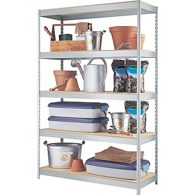 Hirsh SPACE SOLUTIONS Industrial Steel Shelving, 5-shelf, 18