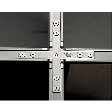 Bush® - Trousse de raccordement en X pour panneaux ProPanel de 66 po, gris clair