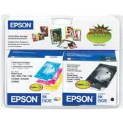 Epson® T044120 Black & Colour Ink Cartridge, Combo Pack