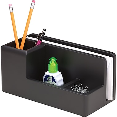 Wood Tones™ Black-Finish Desk Organizer