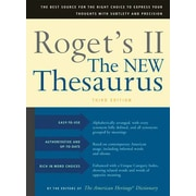 Roget's II: The New Thesaurus, Third Edition