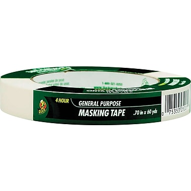Duck Masking Tape .70in. x 60 Yards