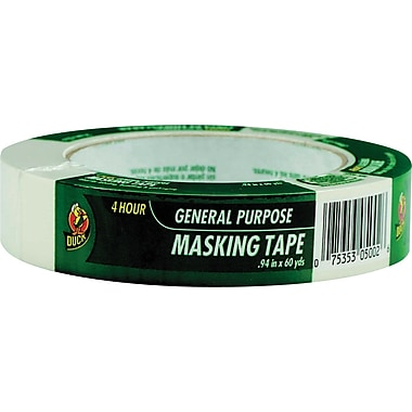 Duck® Masking Tape .94in. x 60 Yards