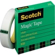 Scotch 810 Magic™ Tape Refill, 1/2in. x 72 yds., 3in. Core