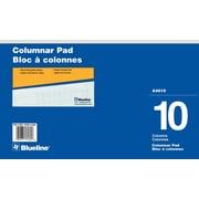"Blueline® Columnar Pads, 14"" x 8-1/4"""