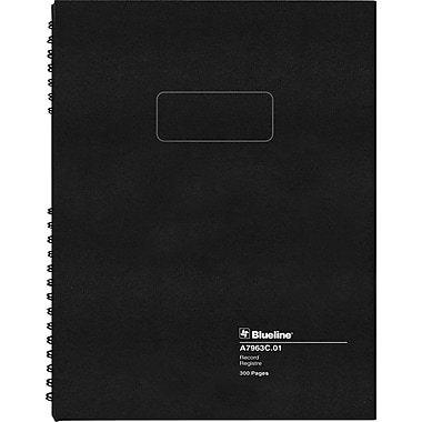 Blueline® A796 Series AccountPro Record Books, 300 Pages