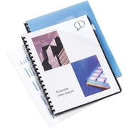 GBC ClearView®  Presentation Covers, Standard Clear Pre-Punched, 100 pieces