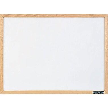 Quartet® Economy Dry-Erase Board, Solid Oak Frame, 36