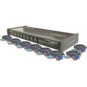 IOGEAR® 8-Port KVM Switch w/ Cables Kit