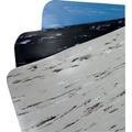 K-Marble Foot 1/2in. Black/White 3' x 5'