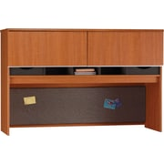 Bush Milano2 66W Credenza Hutch, Golden Anigre
