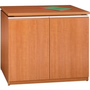 Bush Milano2 36W Storage Cabinet, Golden Anigre, Fully Assembled
