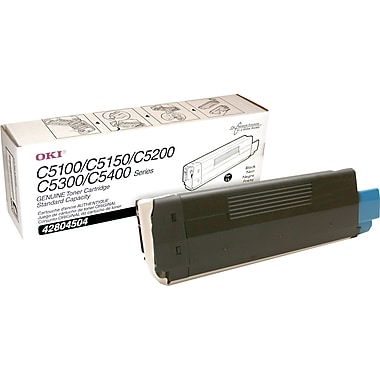 OKI 42804504 Black Toner Cartridge