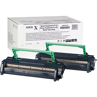 Xerox Black Toner Cartridge (006R01236), 2/Pack