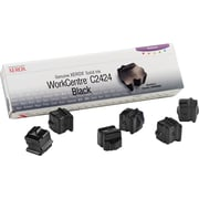 Xerox® Workcentre c2424 Black Solid Ink, 6/Pack (108R00664)