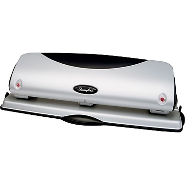 Swingline® Easy View Desktop 3-Hole Punch, 12 Sheet Capacity