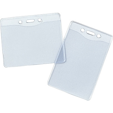 Staples® - Porte-insignes robustes, verticaux, paq./25