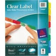 Avery Index Maker Clear Label Tab Dividers, 8-Tab, Multicolor, 1 Set/Pack