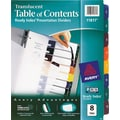 Avery® Translucent Plastic  Dividers