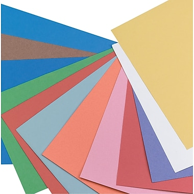 Pacon Construction Paper 12in. x 18in., Assorted Colors, 50 Sheets
