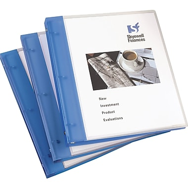 1/2in. Avery® Flexible View Binder with Round Rings, Blue