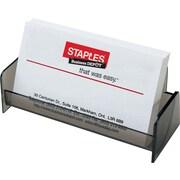 Staples® Business Card Holder, Smoke