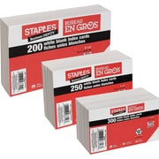 "Staples® Index Cards, 4"" x 6"""