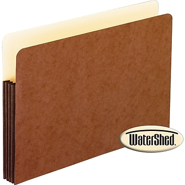 Pendaflex® WaterShed® Top-Tab Expanding File Pockets, Letter, 3 1/2in. Expansion, 10/Box