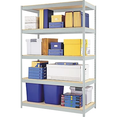 Hirsh SPACE SOLUTIONS Industrial Steel Shelving, 5-shelf, 24