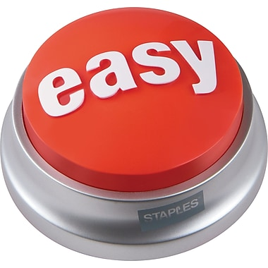 Staples® Easy Button™