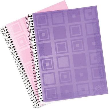 Hilroy - Cahiers de notes en poly, 10 1/2 x 8 po, variés