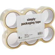 "Simply™ Economy-Grade Packing Tape, 1.89"" x 54.7 yds, Clear, 6 Rolls ST-A18SIMP, 6/Pack (ST-A18SIMP)"