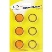 Quartet® Translucent Magnets, 6/Pack