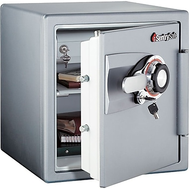 Sentry&reg Safe Fire-Safe&reg 1.2 Cubic Ft. Capacity Security Safe