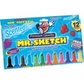 Mr. Sketch Scented Watercolor Markers, 12/Pack