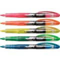 Staples® Hype!™ Liquid Highlighters, Assorted, 5/Pack