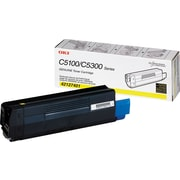 Okidata 42127401 Yellow Toner Cartridge, High Yield