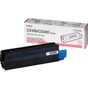Okidata 42127402 Magenta Toner Cartridge, High Yield