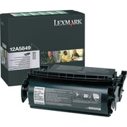 Lexmark 12A5849 Black Toner Cartridge for Label Applications, High Yield Return Program