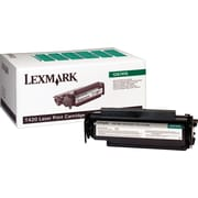 Lexmark 12A7415 Black Return Program Toner Cartridge, High Yield