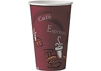 SOLO® Bistro™ Paper Hot Cups, 16 oz., 300/Case