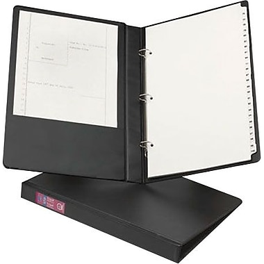1in. Avery® 8-1/2' x 14in. Legal Binder with Round Rings, Black