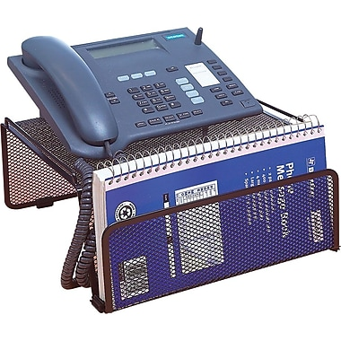 Staples® Black Wire Mesh Phone Stand
