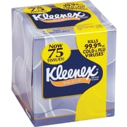 Kleenex® Antiviral Facial Tissues, 3-Ply